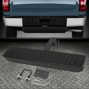 For 2 Receiver Rear Bumper Trailer Towing Hitch Step Bar Guard 26 Wide X 5 Long