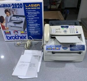 Brother Intellifax 2820 Small Office home Office Laser Fax