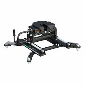 16684 Curt E16 5th Fifth Wheel Hitch With Roller Slide Ram Puck System Adapter
