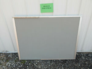 34 X 45 Felt Stick dry Erase Board With Aluminum Frame Mounting Brackets