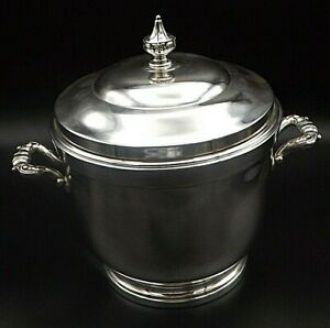 Sterling Silver Ice Bucket By Poole
