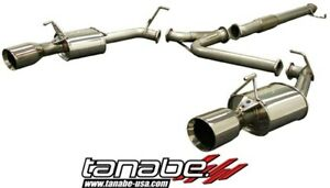Tanabe Medalion Touring Dual Muffler Catback Exhaust For 90 99 3000gt Vr4