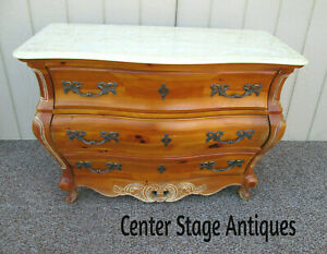 56324 Quality Pulaski French Country Marble Top Dresser Chest
