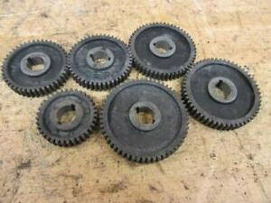 Vintage Craftsman Atlas Metal Lathe M6 101 618 6 Gear Set 36 44 46 52 54 56