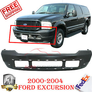 Front Bumper Steel For 2000 2004 Ford Super Duty F 250 F 350 Excursion 1999 04
