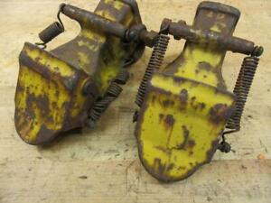 Vintage Allis Chalmers 190 D17 Tractor Quick Attach Snap Couplings 3 Point Hitch