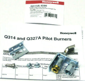 Oem Honeywell Q314a4586 Pilot Burner For Natural Or Lp Gas