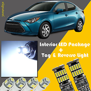 10 X White Led Interior Reverse Light Package For 2007 2019 Toyota Yaris