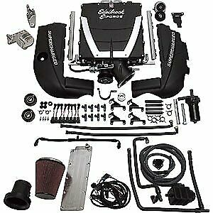 Edelbrock 15450 E Force Universal Supercharger Kit Gen Iii Ls1 Engine Cathedral