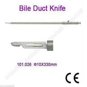 Bile Duct Knife 10x330mm Laparoscopy Brand New Endoscopy Product Top Sale