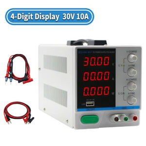 Adjustable Digital Dc Power Supply 30v 10a multifunctional With Usb Interface