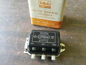 Nos Oem Ford 1956 1964 Fairlane Truck 12v Voltage Regulator 1957 1958 1959 1960
