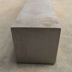 3 Thickness 304 Stainless Steel Square Bar 3 X 3 X 6 Length