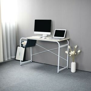 Office Desk Desktop Computer Desk Laptop Study Table With Cloth Bag Storage Furn