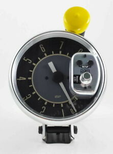 Vw Bug Bus Ghia Type 3 Isp 8 000 Rpm Monster 5 Tachometer Beige Numerical Face