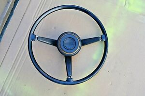 68 69 70 Datsun Roadster 1600 2000 Original Steering Wheel With Horn Button
