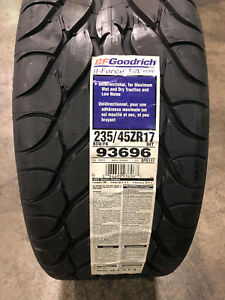 2 New 235 45 17 Bfgoodrich G force T a Kdw Tires