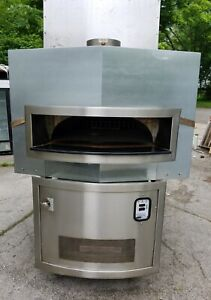 Used Woodstone Mt Baker Natural Gas Pizza Oven Model Ws ms 6 rfg ir ng Sn 0674