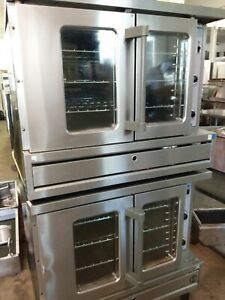 Garland Sunfire Sdg 1 Natural Gas Double deck Convection Ovens