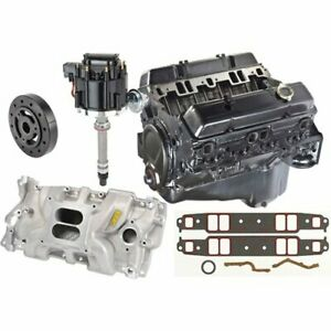 Jegs 12681429kc Jegs Gm Engine Bundle 195 Hp Includes Gm Goodwrench 350ci Crate