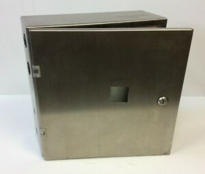 Hammond 2s16166 Stainless Steel Electrical Control Panel Enclosure 16 x 16 x 6