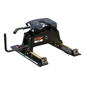 16541 Curt A20 5th Fifth Wheel Hitch With Roller Slide 20 000 Lbs