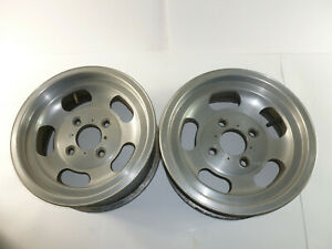 Slotted Mag Wheels Chevrolet Corvair Chevy Ll Datsun 240z 500 4 Bolt 13x5 5