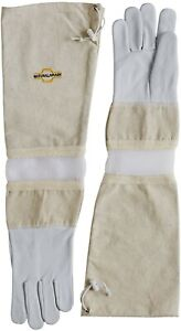 Natural Apiary Protective vented Sleeves Sting Proof Cuffs beekeeping Gloves X