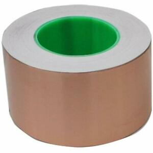 Masking Tape 3 Inch X 55 Yds Copper Foil 76mm 50m Emi Shielding Conductive