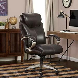Home Office Desk Chairs Serta Big Tall Executive Kitchen Dining