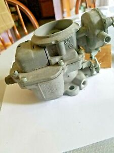 1960 64 Studebaker Champ 170 Six Cylinder Carter Carburetor Model As