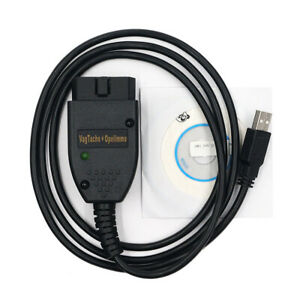 Vag Tacho 3 01 Usb Diagnostic Cables Obd2 Fit For Opel Immo Airbag Reset Scanner