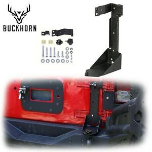 Off road Mount Tailgate Bracket Hi lift Hood Jack For 2007 2017 Jeep Wrangler Jk