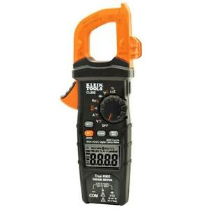 Klein Cl800 600 amperes 1 000 volt Ac dc Auto ranging Digital Clamp Meter