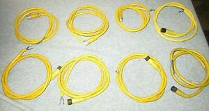Turck M12 Eurofast 2 wire Cordset Approx 40 L Prev Used Hand Cleaned 8