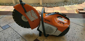 Stihl Ts420 Gas Concrete Cut off Saw W 14 Diamond Disk