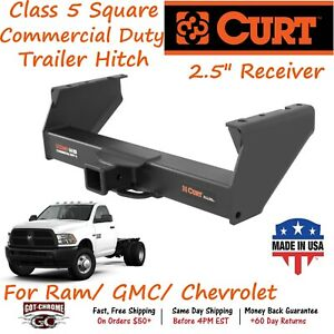 15800 Curt Class 5 Commercial Duty Trailer Hitch W 2 5 Receiver 3500 4500