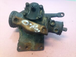 Jeep Cj Power Steering Gear Box W Brackets 76 86 Cj5 Cj7 Cj8 O Ring Fittings