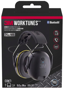 3m Worktunes Wireless Connect Hearing Protector Headset Bluetooth Headphones