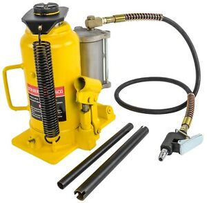 Jegs 79009 Bottle Jack 20 Ton Capacity Air Assist