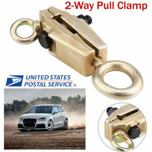 5ton Heavy Duty Frame Back Self Tightening Grips Auto Body Repair Pull Clamp New
