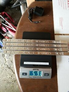 Solder Bars 5 8 Pounds Total Solder Lead Sn63 pb37 Qty 4 Bars Lot