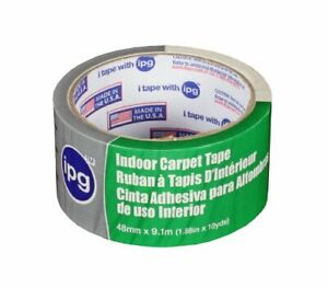 Ipg Double sided Indoor Carpet Tape 1 88 X 10 Yd single Roll