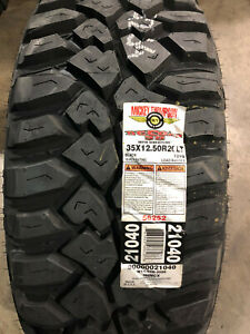 4 New Lt 35 12 50 20 Mickey Thompson Deegan 38 10 Ply Mud Tires