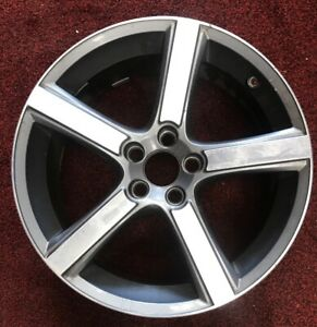 18 Volvo C70 Series 2013 Machined Gray Oem Midir Used Wheel 31341699 Rim 70385