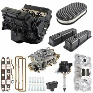 Jegs 7353k7 Small Block Chevy 350ci Crate Engine Kit Pre 1986 Cast Iron Cylinder