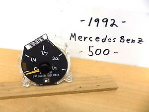 May 1992 Mercedes Benz 500 Parts Gas Fuel Gauge Only