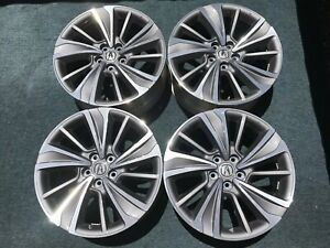 Set Of 4 20 Acura Mdx Oem Factory Wheels Tl Honda Pilot Ridgeline Rims Tpms