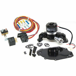 Prw 4446017k Electric Water Pump Relay Kit Big Block Ford 400 460 Right Inlet