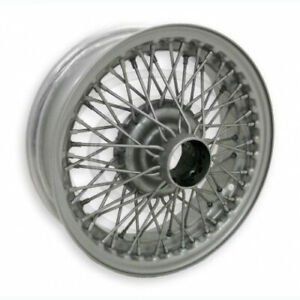 Coker Tire D459ptt 15x5 Dayton Wire 72 Spoke Painted Requires Tube Fits A C Gre